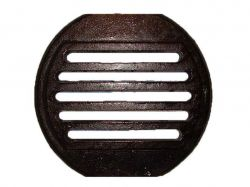 Решітка чавунна колосникова кругла 310х280, (34) ТМБУЛАТ