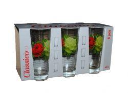 Набір склянок 6шт*200мл вис. Букет троянд 05с1256 ТМОСЗ