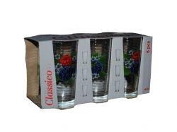 Набір склянок 6шт*200мл вис. Ожина 05с1256 ТМОСЗ