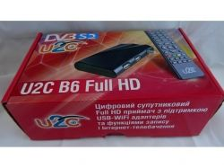 Супутниковий тюнер B6 FULL HD METAL (прошитий) ТМU2C