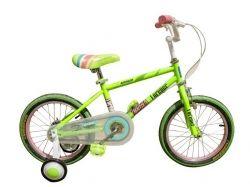 Велосипед дитячий BALLET16 зелений ТМХВЗ