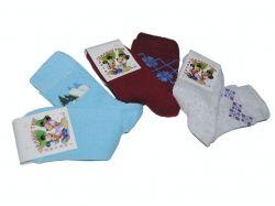 Шкарпетки дитячі махрові (10пар) асорті 1113р.ТММ_M