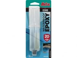 Клей епоксидний водостійкий (шприц) E300 28,4г (25ml) ТМAKFIX
