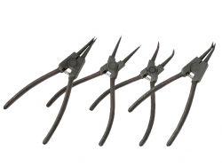 Щипці для зняття стопорних кілець вигнуті на стиск 150мм 32K303 ТМHOUSETOOLS