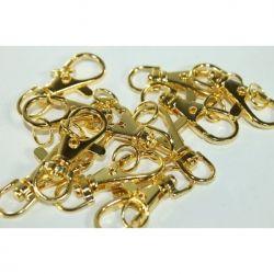Карабіни для сумок 4см KRE золото ТМКИТАЙ
