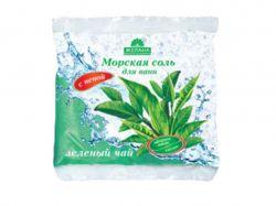 Сіль з піною та каоліном 500мл (Зелений чай) ТМЖЕЛАНА
