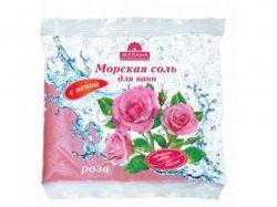 Сіль з піною та каоліном 500мл (Троянда) ТМЖЕЛАНА