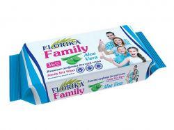 Вологі серветки Family 36шт ТМFLORIKA