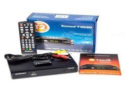 TV-тюнер внешний автономный Romsat T2020 (black) DVB-T2 / PVR / HDMI / USB