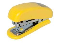 Степлер пластиковий М н до 10арк. (скоби 10) жовтий BM.412508 ТМ BUROMAX