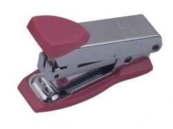 Степлер металевий Міні до 12арк., (скоби №10), рожевий BM.415110 ТМBUROMAX