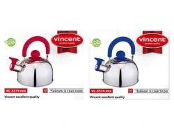 Vincent.Чайник 2,5л VC-3574 mix VC-3574 mix