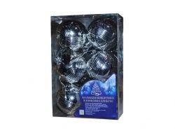 Ялинкові кульки 8662 7см 6шт/кор ТМSTENSON