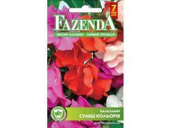Квіти БАЛЬЗАМІВИСОКОРОСЛА СУМІШ (ОДНОРІЧ) (10 пач) 0,5Г РС 21730 ТМFAZENDA