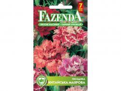 Квіти ГВОЗДИКА КИТАЙС.МАХРОВА СУМІШ (ОДНОРІЧ.)(10пач)0,2Г РС 21720 ТМFAZENDA