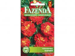 Квіти ЧОРНОБРИВЦІ КАРМЕ (ОДНОРІЧ) (10 пач) 0,5Г 21435 ТМFAZENDA