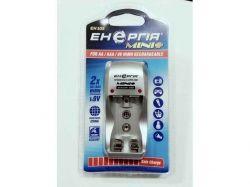Зарядное устр-во Энергия EH-103 Mini+, Silver, 2xAA/AAA/Крона, AA/AAA -> 150 mA, Крона -> 30 mA