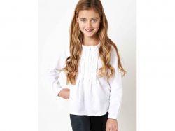 Сорочка для дівчинки 11-12 років біла SGRSQDSRT01 ТМSUGAR SQUAD