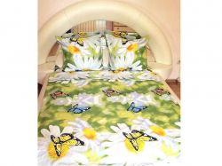 Комплект постільної білизни 1,5 спальний 70*70 полібязь 3Д арт.11 ТМConstancy