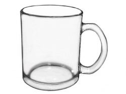 Чашка скляна 340мл прозора 922(J) ТМSNT