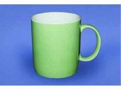 Чашка Офісна 0,350л Салатна 2 біла ТМАВАНГАРД