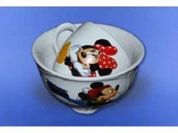 Набір дитячий 2х предметний:чашка Одесса 220мл та салатник 0,5 ТМАВАНГАРД
