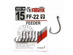 Гачок FEEDER №15 7шт/уп.арт. FF2215 ТМ FANATIK