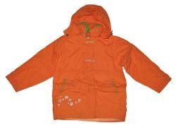 Куртка для дівч. помаранч. р. 140 ТМКитай