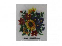 Набір для вишивання хрестиком А5 - А-349 (ромашки) INL ТМКИТАЙ