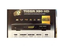 Супутниковий тюнер x90HD інтернет (прошитий) ТМTIGER