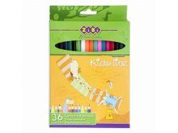 Набір кольорових олівців 36 кольорів STANDARD ZB.2404 ТМZIBI