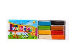 Пластилін 8 кольорів х 160г ТМТетрада