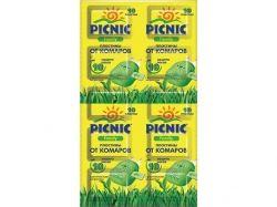 Пластини від комарів (10 шт) Picnic Family ТМPICNIC