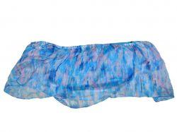 Топ з чашечками на поролоні жіночий р.6 (укр.40) блакитний 10049037002 ТМMissgu