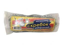 Скребок кухонний 18 гр х 3шт (корозійностійка сталь) ТМТИТА