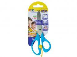 Ножиці дитячі 138мм з поворотним механізмом, синій ZB.501702 ТМZiBi