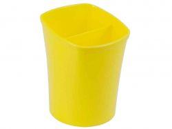 Стакан для письмового приладдя KVADRIK жовтий ZB.300108 ТМZiBi