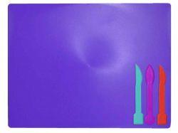 Дощечка для пластиліна, 3 стека, фіолетовий ZB.6910-07 ТМZiBi