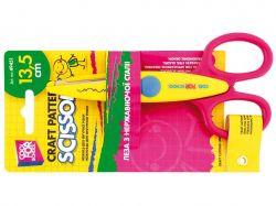Ножиці дитячі 13,5см з фігурними лезами д/аплікації,зигзаг CF49451 ТМEconomix