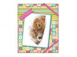 Папка на гумках В5 My funny puppy «Квіточки» CF3164201 ТМCFS
