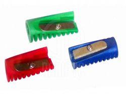Чинка пластикова «Міні», 1 лезо, асорті E40633 ТМEconomix