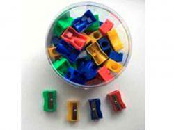 Чинка пластикова на 1 лезо асорті F40690 ТМFormat