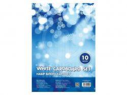 Набір білого картону А4, 10 арк., CF21000 ТМCFS