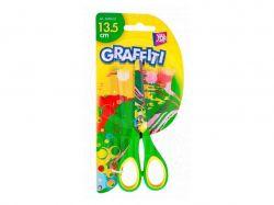 Ножиці дитячі 13,5см, GRAFFITI CF4945402 ТМCFS
