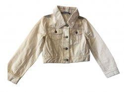 Піджак джинсовий для дівчинки білий 6 років AOP3195F1 TM ORIGINAL MARINES