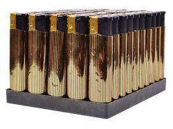Запальничка золото плоска 12313, 8333, ТМКитай