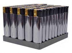Запальничка срібло плоска 12314, 8334, ТМКитай