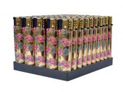 Запальничка, пєзо квіти золото 12315, 8335 Квіти ТМКитай