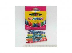 Крейди воскові Crayons, набір 12 кол. ТМКИТАЙ