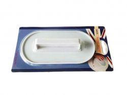 Лопатка конд.пластмасова овальна для мастики 15 * 7,5 см VT619701 ТМVITOL